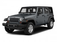 Used, 2015 Jeep Wrangler Unlimited Rubicon, White, DD13227A-1