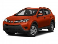 Certified, 2015 Toyota RAV4 AWD 4-door XLE, Orange, U16821T-1