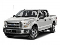 Used, 2015 Ford F-150 XLT, White, H22056A-1