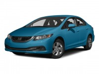 Certified, 2015 Honda Civic Sedan 4-door CVT LX, Blue, U06602P-1