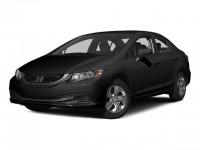 Certified, 2015 Honda Civic Sedan 4-door CVT LX, Black, U25226P-1