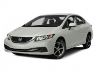 Certified, 2015 Honda Civic Sedan 4-door CVT SE, White, U06581P-1