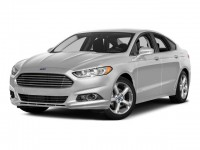 New, 2016 Ford Fusion Titanium, Black, HTR15705-1