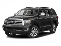New, 2016 Toyota Sequoia 4WD 5.7L Limited, Black, 163719-1