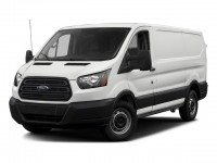 "Used, 2016 Ford Transit Cargo Van T-150 130"" Low Rf 8600 GVWR Swing-O, White, P16955-1"
