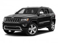 Used, 2016 Jeep Grand Cherokee Overland, Black, 1376-1