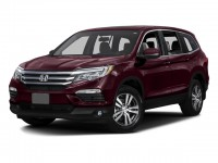 Certified, 2016 Honda Pilot AWD 4-door EX-L, Purple, U06566P-1