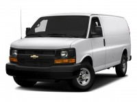 "Used, 2016 Chevrolet Express 2500 RWD 2500 135"", White, DL192A-1"