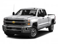 Used, 2016 Chevrolet Silverado 2500HD LTZ, White, D13354A-1