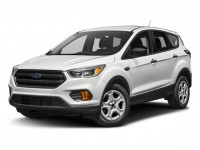 Used, 2017 Ford Escape SE, White, DP54365-1