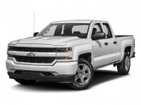 Used, 2017 Chevrolet Silverado 1500 Custom, Red, GP4986A-1