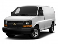 "Used, 2017 Chevrolet Express Cargo Van RWD 2500 135"", White, 20CF857A-1"