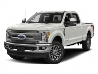 New, 2017 Ford Super Duty F-250 SRW Lariat, White, HTS18707-1