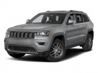 Used, 2017 Jeep Grand Cherokee Limited, Red, DP54468-1