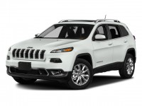 Certified, 2017 Jeep Cherokee Latitude 4x4, White, DP54039A-1
