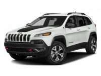 Certified, 2017 Jeep Cherokee Trailhawk, White, CN1840-1