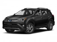 New, 2017 Toyota RAV4 Hybrid Limited AWD, Black, 173508-1