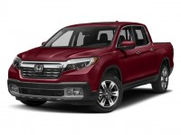 New, 2017 Honda Ridgeline RTL-E 4x4 Crew Cab 5.3' Bed, Red, 171537-1