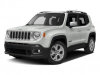 Used, 2017 Jeep Renegade Limited, White, DP54330-1