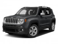 New, 2017 Jeep Renegade Limited, Gray, JJ373-1