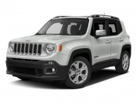 New, 2017 Jeep Renegade Limited, White, JJ325-1