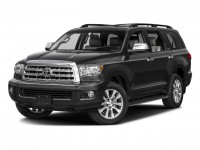 New, 2017 Toyota Sequoia Limited 4WD, Black, 172003-1