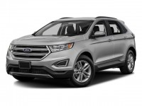 Certified, 2017 Ford Edge Titanium, White, P16324-1