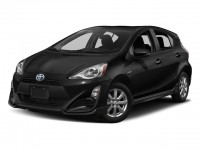 New, 2017 Toyota Prius c Two, Black, 171526-1