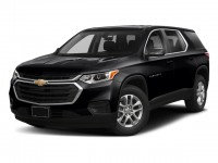New, 2018 Chevrolet Traverse FWD 4-door LS w/1LS, Black, 181435S-1