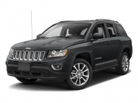 Certified, 2017 Jeep New Compass Latitude 4x4, Black, DP54158-1