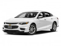 New, 2018 Chevrolet Malibu 4-door Sedan LT w/1LT, White, 180496-1
