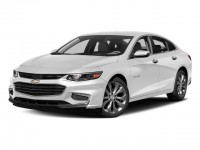 New, 2018 Chevrolet Malibu 4-door Sedan Premier w/2LZ, White, G0855-1