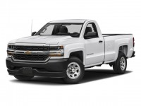 Used, 2018 Chevrolet Silverado 1500 Work Truck, White, 21C420A-1