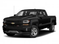"New, 2018 Chevrolet Silverado 1500 4WD Double Cab 143.5"" LT w/1LT, Black, 181585-1"