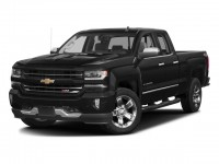 "New, 2018 Chevrolet Silverado 1500 4WD Double Cab 143.5"" LTZ w/2LZ, Black, 181570-1"