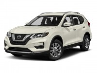 New, 2018 Nissan Rogue AWD S, White, N180197-1