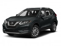 New, 2018 Nissan Rogue AWD SV, Black, N180203-1