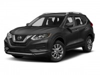 New, 2018 Nissan Rogue AWD SV, Gray, N180181-1
