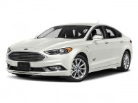 New, 2018 Ford Fusion Energi SE FWD, White, F18140-1