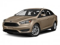 New, 2018 Ford Focus SE, Gold, B11740-1