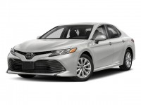 New, 2018 Toyota Camry LE Auto, White, 181206-1