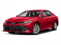 New, 2018 Toyota Camry XLE V6 Auto, Red, 18583-1