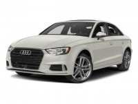 New, 2018 Audi A3 Sedan 2.0 TFSI Premium quattro AWD, White, A18415-1