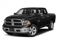 "New, 2018 Ram 1500 Big Horn 4x4 Crew Cab 5'7"" Box, Black, 18650-1"
