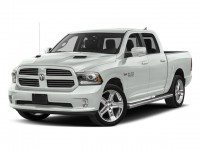 "New, 2018 Ram 1500 Night 4x4 Crew Cab 6'4"" Box, White, 18842-1"