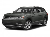 New, 2018 Volkswagen Atlas 3.6L V6 SE w/Technology 4MOTION, Gray, V18161-1