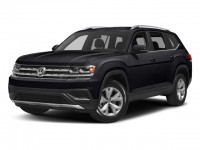 New, 2018 Volkswagen Atlas 3.6L V6 SEL 4MOTION, Black, V18109-1