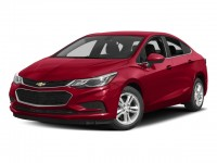 New, 2018 Chevrolet Cruze 4-door Sedan 1.4L LT w/1SD, Red, 181516-1