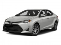 New, 2018 Toyota Corolla LE CVT, Red, 18933-1