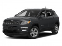Certified, 2018 Jeep Compass Latitude, Black, JM165A-1